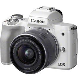 Canon EOS M50 Body With EF-M 15-45mm IS STM Lens Kit - White Thumbnail Image 2